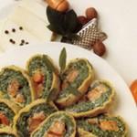 Rotolo zucca e spinaci