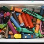 Creare regali originali riciclando i pastelli a cera