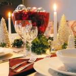 Consigli su come decorare la tavola a Natale