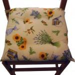 Cuscini floreali fatti in casa