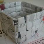 Come fare un cestino per la carta con le mappe stradali