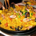 Un tipico piatto spagnolo: la paella!