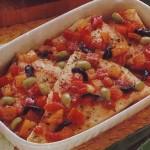 Ricette di pesce: spada al cartoccio con peperoni e sgombro in mostarda