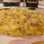 La tradizione sulla nostra tavola: risotto con ragù di salsiccia