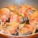 In tavola arrivano dei gustosi bocconcini di pollo avvolti nella pancetta
