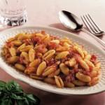 Un piatto veloce ed economico: gnocchetti con speck e mozzarella