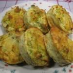 Tortini salati alle verdure e formaggio