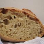 Pane fatto in casa, che delizia