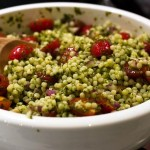 Cous cous al pesto con verdure