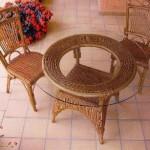 Guida: come pulire sedie e tavoli in vimini