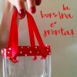 Come trasformare una bottiglia di pastica in una borsetta
