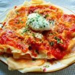 Piatto sardo: pane frattau