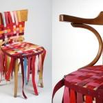 Come rivestire una sedia con le vecchie cinture