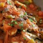 Fettine con salsa al pomodoro e funghi