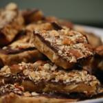 Fette biscottate al cacao e mandorle