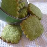 Biscotti al tè verde