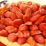 Sfiziosa crostata di fragole senza glutine
