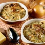 Zuppa di cipolle al forno