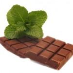 Torta al cioccolato con salsa alla menta