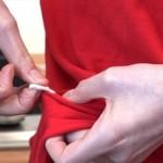 Come rimuovere il fastidioso chewing-gum dagli indumenti