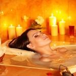 Come riscaldarsi con un bagno speciale