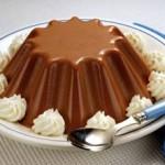 Dolce per i celiaci: bavarese al cioccolato al latte