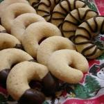 Biscotti al cioccolato: vanillkipferl