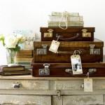 Tante idee per riciclare una valigia vecchia