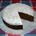 Torta per celiaci al cioccolato e mandorle