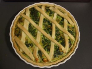 crostata spinaci