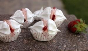 meringhe crema fragole