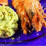 Ricette: Crema di asparagi con gamberetti