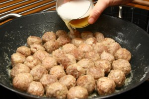 polpette birra