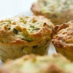 Ricetta estiva: Dei buonissimi muffin ripieni di verdure