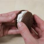 Un buonissimo dessert di puro cioccolato