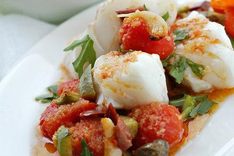 Merluzzo e pomodori: ecco un delizioso piatto light