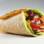 Tortillas messicane con carne e verdure