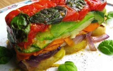 millefoglie di verdure