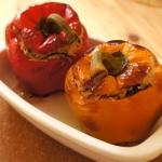 Cucina vegana: peperoni ripieni