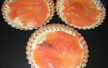 tortellette di salmone