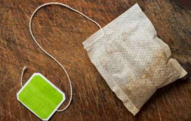 riciclo bustine di tè
