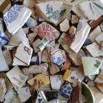 Come riciclare tazze e bicchieri rotti