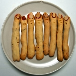 Le dita della strega, i biscotti di Halloween