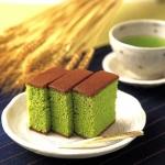 Un dolce originale: torta al tè verde