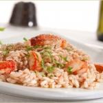 Ricetta Natalizia: aragosta accompagnata dal riso pilaf