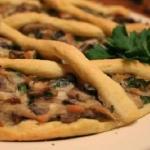 Crostata salata ai funghi