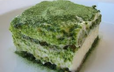 tiramisù al tè verde