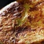 Frittata di pane e formaggi
