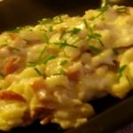 Spatzle, gnocchetti di uova e farina con speak