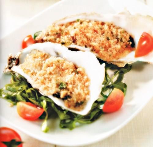 come cucinare delle ostriche gratinate